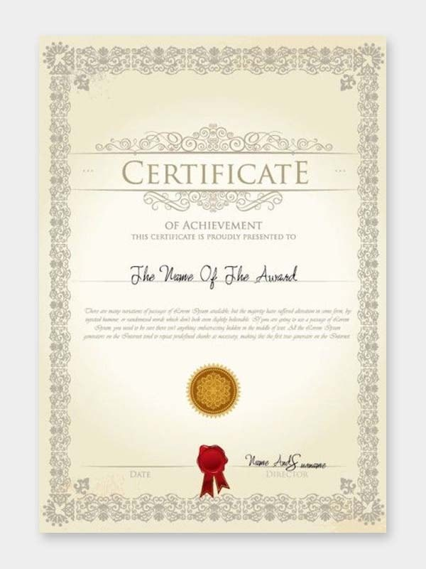 Order Certificate Printing Online at Cheapest Price with Door