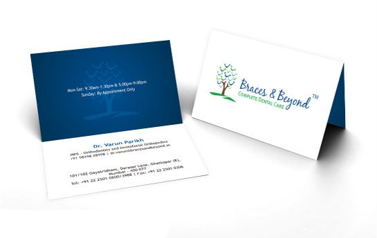 Attractive Folding Visiting Cards for Your Business PrintStop