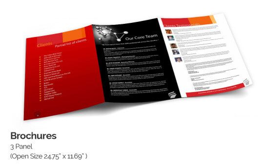 Online Brochure Printing  Designs with Quality Brochure Templates - make pamphlet online
