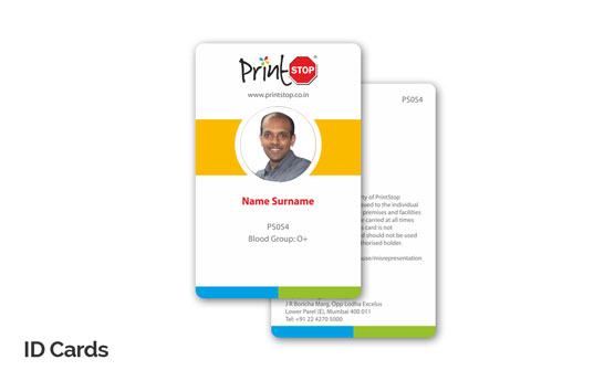 ID Cards Printing Online Employee Identity Cards Online Printing