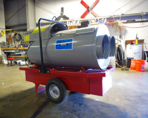 Indirect Fired Heaters Priority Rental