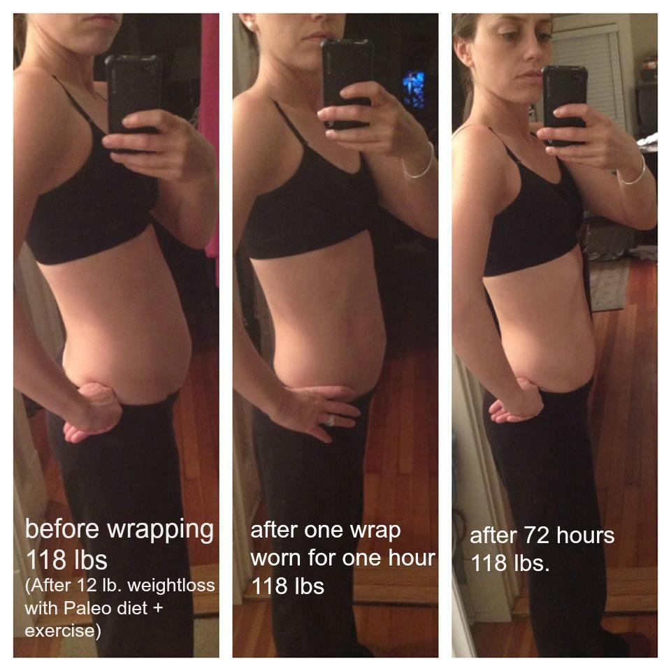 My Results From One Wrap