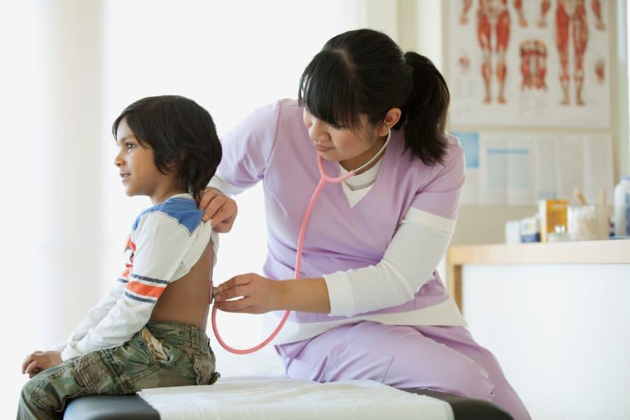 pediatrician medical assistant