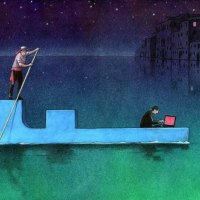 Pawel Kuczynski e seu satirismo ilustrado