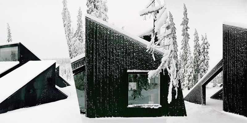 Cabin Vindheim: Uma Casa Enterrada na Neve na Noruega