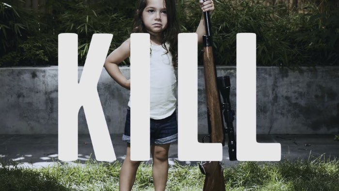 Armas não matam Pessoas, Crianças matam Pessoas