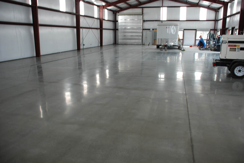 Polished Concrete With Htc Superfloorstm Pristine Concrete