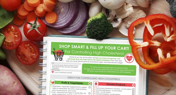 Shopping List For Lowering Cholesterol - Pritikin Weight Loss Resort