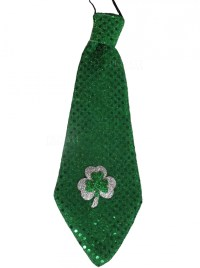 Green Shamrock Tie, Ireland, Irish, St Patricks Day ...