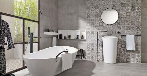 Revêtement mural pour une salle de bain  Lequel choisir ?