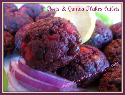 beets and QF cutlets