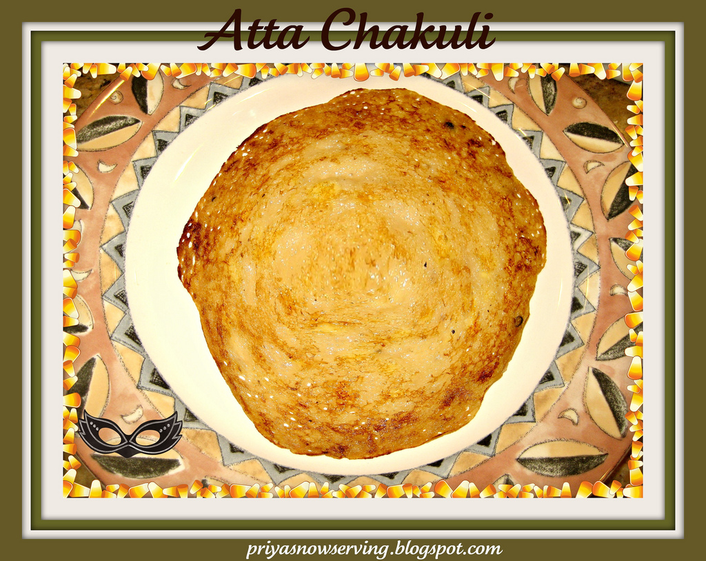 Atta Chakuli For Blogging Marathon and Blog Hop Wendesday