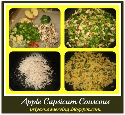 Apple C Couscous