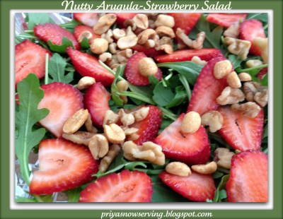 Arugula-Strawberry Salad