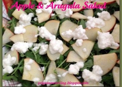 Apple & Arugula Salad