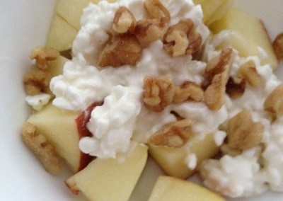 Apple and Cottage Cheese Salad