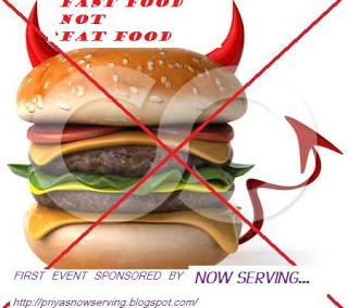 FAST FOOD NOT FAT FOOD # 8