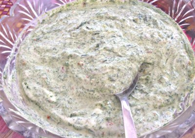 Simple Spinach Dip