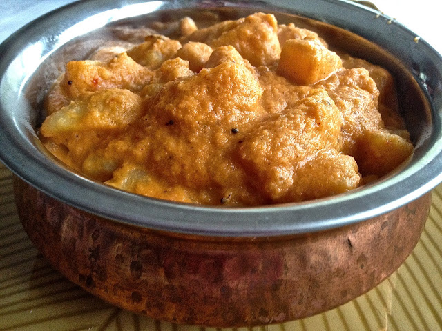 Potatoes in Peanut & Onion Gravy (Urulai Thiratal)