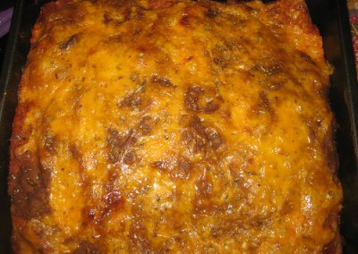 Pumpkin-Black Bean and Corn Curried Enchiladas