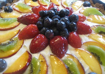 Fresh Fruit Tart and 100th Post