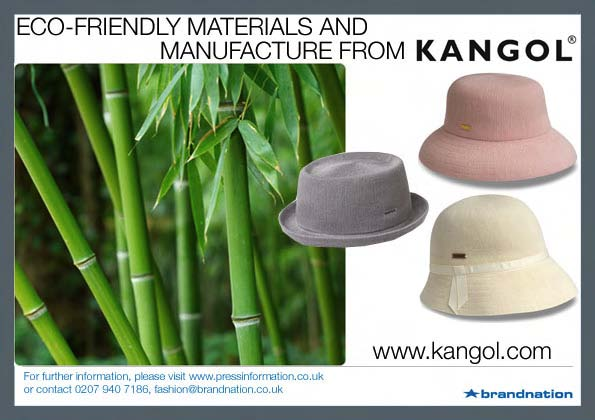 Eco-Friendly Materials And Manufacture From Kangol -- Brandnation
