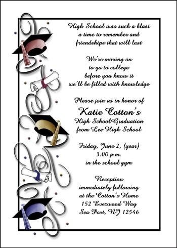 Printable Graduation Announcements, Graduation Announcement and
