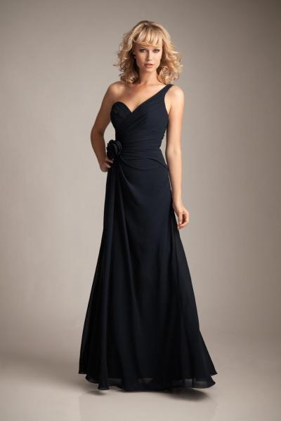 NAVY BRIDESMAID DRESSES - The Dress Shop