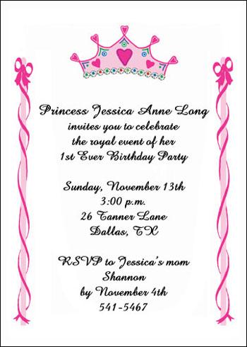 Boys Birthday Invitations for any Kid Birthdays Party -- Sarah
