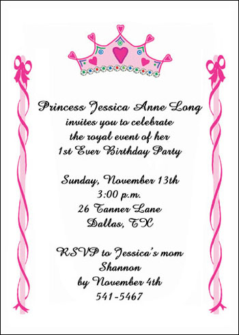 Childrens Birthday Invitations for Child Party at Invitations - kids birthday invites