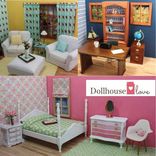 Dollhouse love reinvents dollhouses for diy decorating and