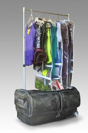 Ecogear39s New Wheeled Duffel With Extendable Garment Rack