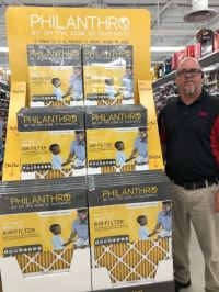 Mariemont ACE Hardware Sells PHILANTHRO Furnace Filters ...