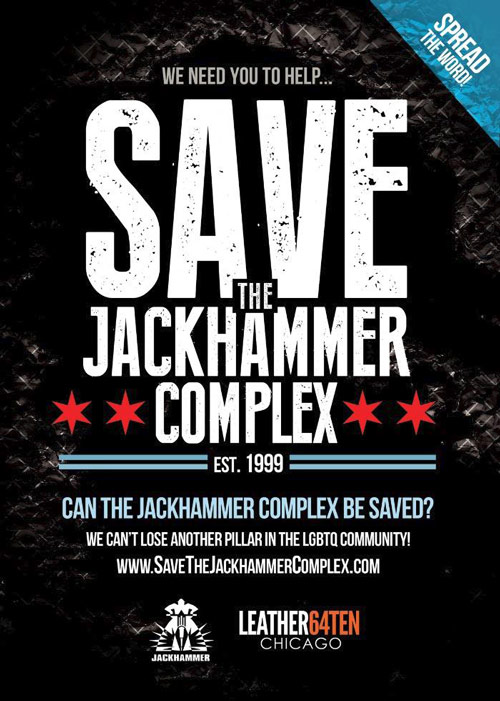 We Need YOU to Help Us Save The Iconic Jackhammer Complex! -- The