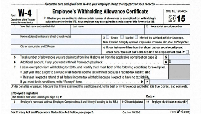 Income Tax Form W9 and Others - tax form