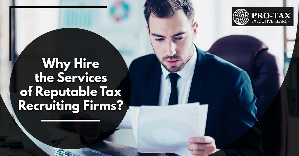 Tax Recruiting Firms