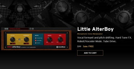 SoundToys Little Alter Boy Plugin Is Free For a limited Time