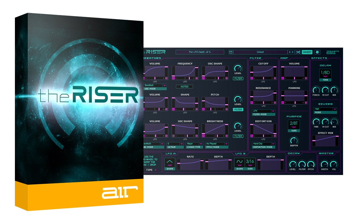 The Riser Air Instruments 50% Off Deal - Plus Free Bonus Expansion Pack
