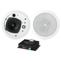Wireless Bluetooth Hotel Room System with 2 In Ceiling ...