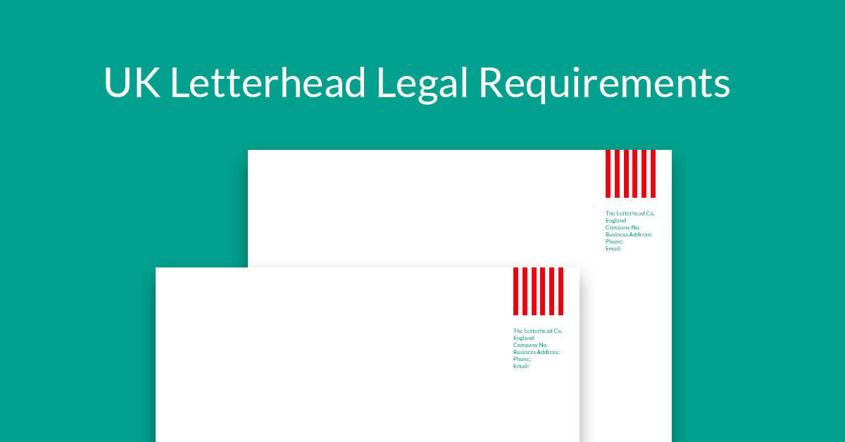 UK letterhead legal requirements - a quick guide to help you get it