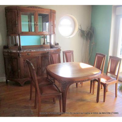 Salle à manger Art Déco 1930 Noyer - autres meubles