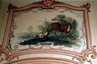 Cabinet des Fables de l'hôtel Dangé , musée des arts décoratifs.