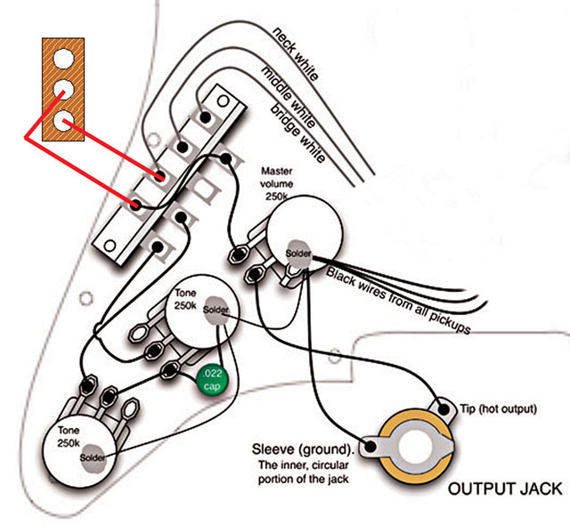 Vintage Guitar Wiring Diagrams Wiring Diagram