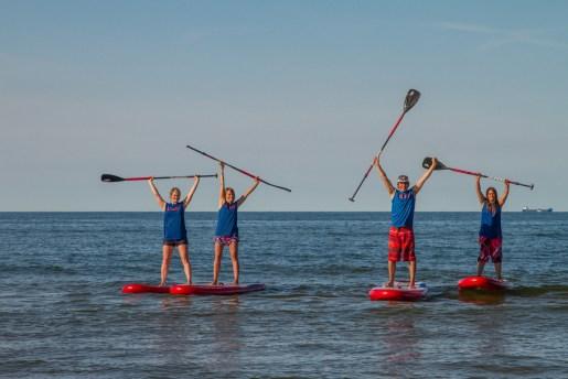 Stand up Paddle SUP Insel Rügen im Ostseebad Göhren