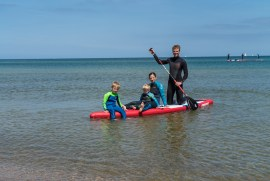 Stand up Paddle ist Familien Wassersport