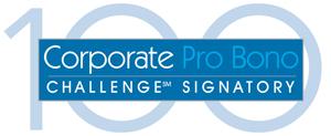 The Corporate Pro Bono Challenge 100 logo