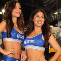 Photos: Meet the Corona Girls, boxing ring card girls