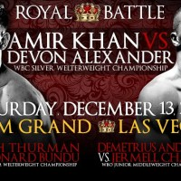 Amir Khan vs. Devon Alexander tickets on sale Friday