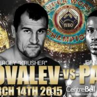 Full card for Kovalev-Pascal March 14 in Montreal