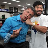 Photos: Hollywood Manny Pacquiao hangs with Sylvester Stallone